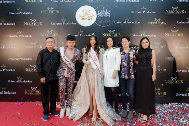 Chân dung cô bé Việt 13 tuổi cao 1m72 vừa giành ngôi Hoa hậu Hoàn vũ nhí thế giới 2018 - Ảnh 3.