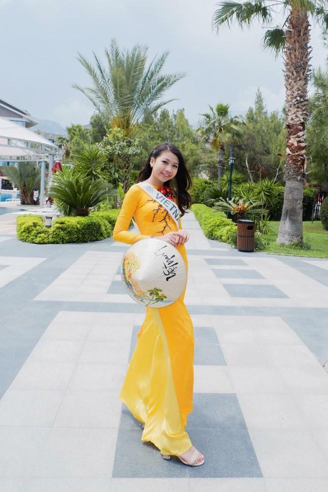 Chân dung cô bé Việt 13 tuổi cao 1m72 vừa giành ngôi Hoa hậu Hoàn vũ nhí thế giới 2018 - Ảnh 5.