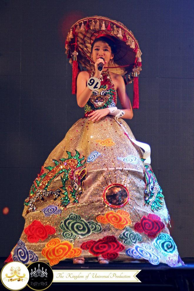 Chân dung cô bé Việt 13 tuổi cao 1m72 vừa giành ngôi Hoa hậu Hoàn vũ nhí thế giới 2018 - Ảnh 6.