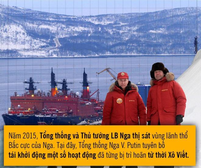 [Photo Story] Những bước đi dồn dập của Nga tại Bắc Cực khiến NATO chạy theo không kịp - Ảnh 4.