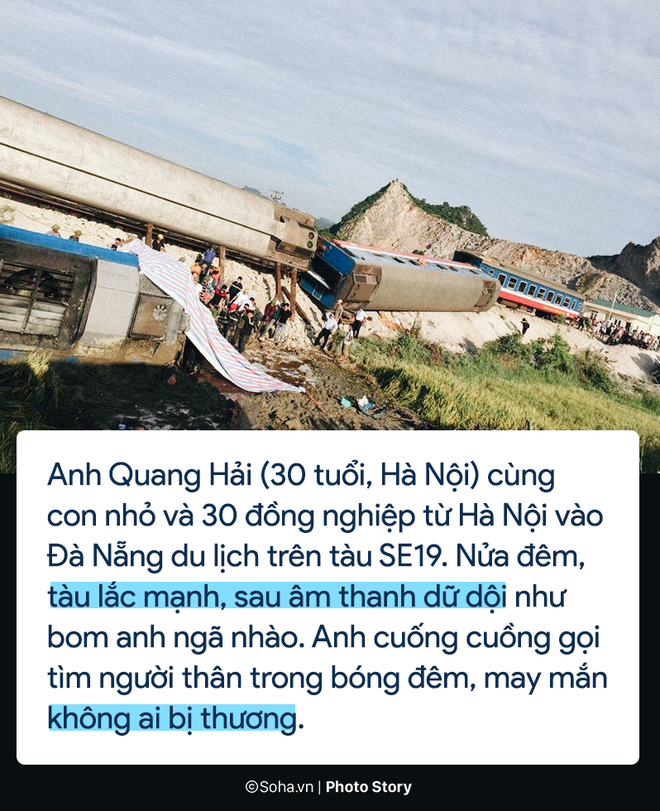 [PHOTO STORY] Chuyện cảm động trên chuyến tàu hoạn nạn: Khách Tây làm bậc thang giúp khách Việt thoát khỏi toa tàu lật - Ảnh 1.