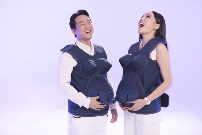 Hoa hậu Kỳ Duyên: Mang bầu, tôi thấy phần bụng cực kì nặng, có cảm giác đau thốn thốn kiểu gì ấy - Ảnh 9.