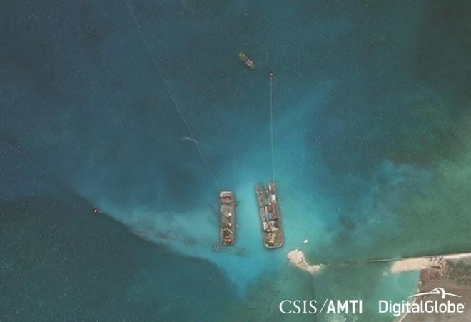 Viện nghiên cứu Mỹ: Philippines nâng cấp đường băng trên đảo Thị Tứ ở Biển Đông - Ảnh 1.