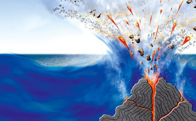 Nước dập được lửa vậy mà tại sao vẫn có núi lửa phun trào dưới lòng đại dương?
