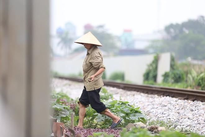 Mưu sinh trên đường ray tàu hỏa, nhìn đã thấy rùng mình - Ảnh 9.