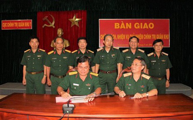 Đại tá Đỗ Văn Bảnh được bổ nhiệm chức vụ Chủ nhiệm Chính trị Quân khu 7