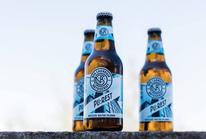Sắp có bia Carlsberg được làm từ nước cống - Ảnh 1.