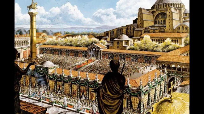 Hoàng đế La Mã thông đồng ngụy tạo Thời gian Ma, ăn cắp của thế giới 297 năm? - Ảnh 6.