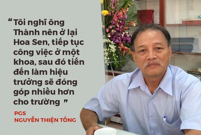 8 phát ngôn quanh việc giáo sư quần đùi Trương Nguyện Thành rời ĐH Hoa Sen về Mỹ - Ảnh 4.