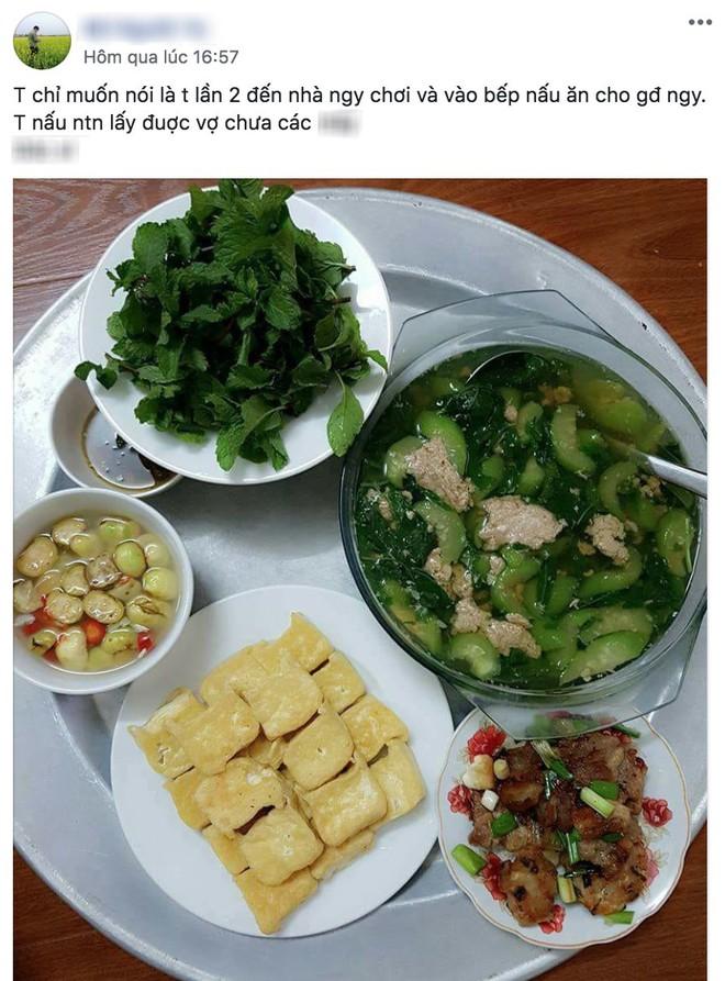 Khoe mâm cơm nấu cho gia đình bạn gái, thanh niên bị bóc lấy ảnh trên mạng sống ảo câu like - Ảnh 1.