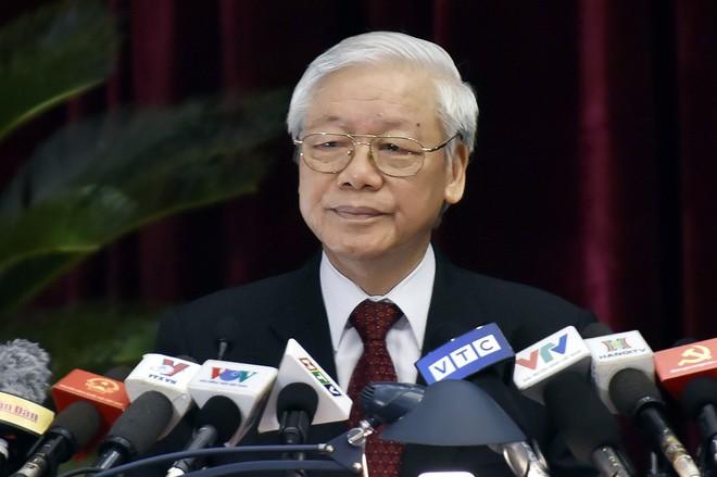 Chùm ảnh khai mạc Hội nghị Trung ương 7 - Ảnh 1.