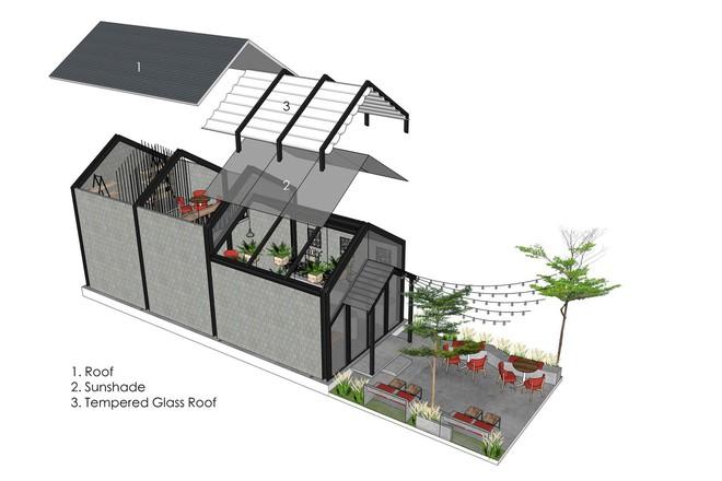 Hè này, nếu đến Đà Nẵng, hãy ghé quán cà phê ở Thái Phiên để tận mục kiến trúc được báo Mỹ vinh danh - Ảnh 13.