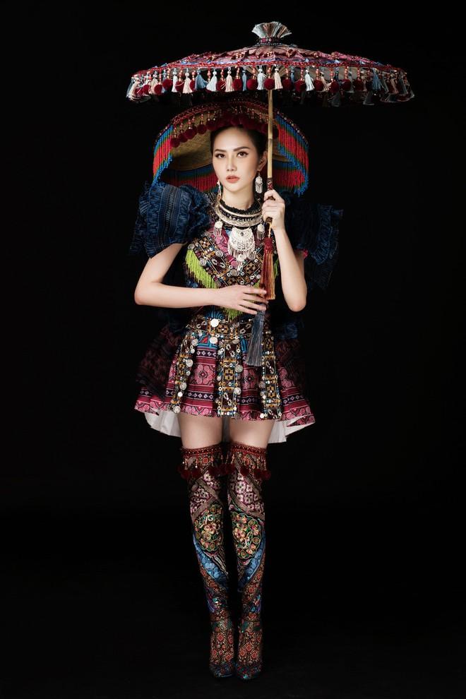 Diệu Linh mang trang phục nặng 30 kg dự thi Nữ hoàng Du lịch Quốc tế - Ảnh 12.
