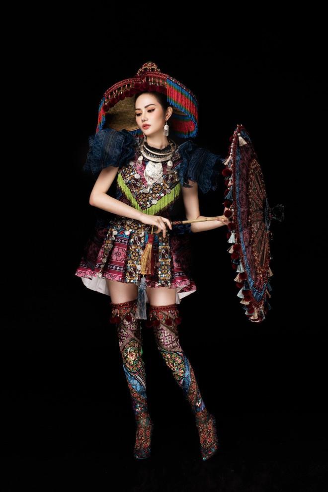 Diệu Linh mang trang phục nặng 30 kg dự thi Nữ hoàng Du lịch Quốc tế - Ảnh 11.
