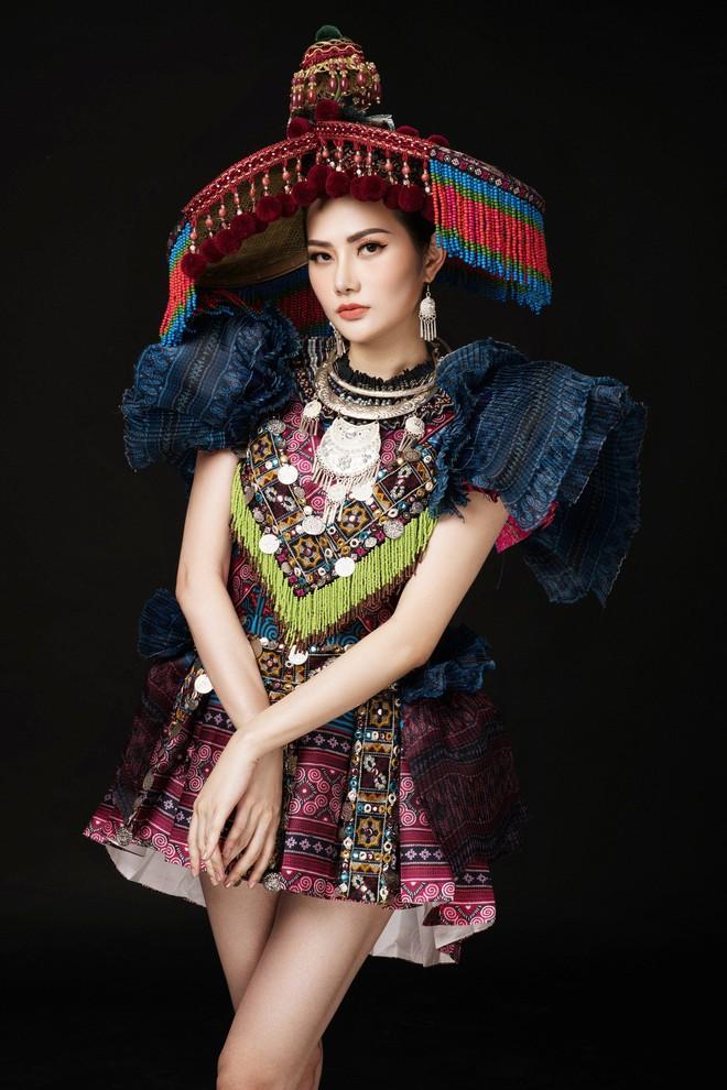 Diệu Linh mang trang phục nặng 30 kg dự thi Nữ hoàng Du lịch Quốc tế - Ảnh 5.