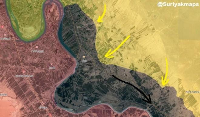 """Chiến dịch """"Bão cát trên các ốc đảo"""": Cơn hấp hối của IS tại Syria - Ảnh 1."""