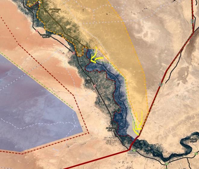 """Chiến dịch """"Bão cát trên các ốc đảo"""": Cơn hấp hối của IS tại Syria - Ảnh 3."""