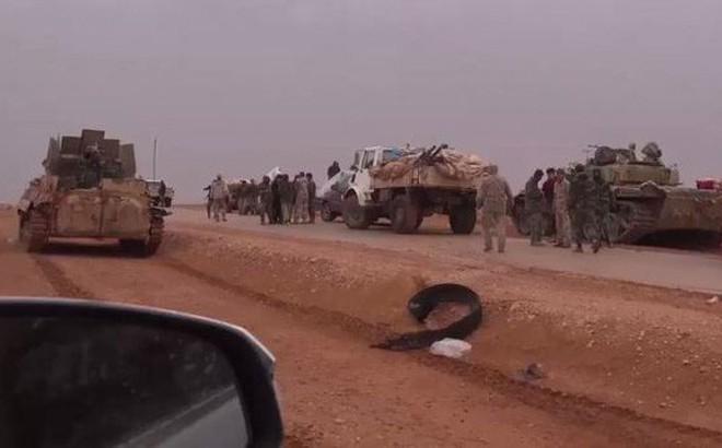 """Chiến dịch """"Bão cát trên các ốc đảo"""": Cơn hấp hối của IS tại Syria"""