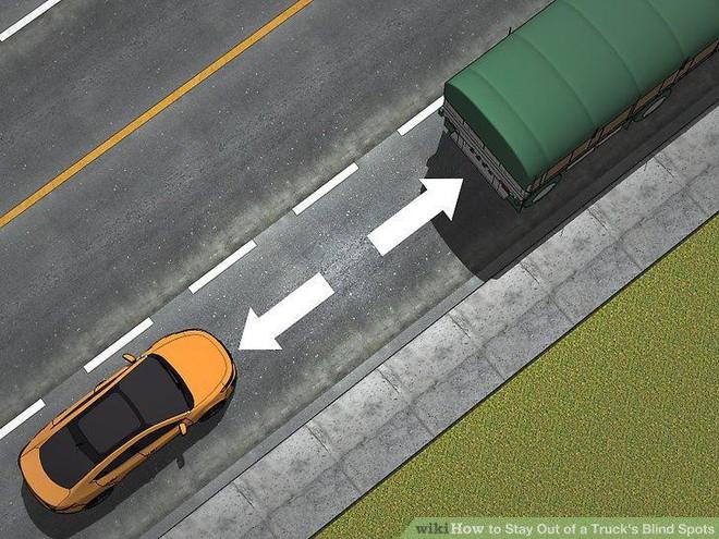 Thiếu kiên nhẫn, chần chừ và những sai lầm chết người dẫn đến tai nạn ở điểm mù của xe tải - Ảnh 6.