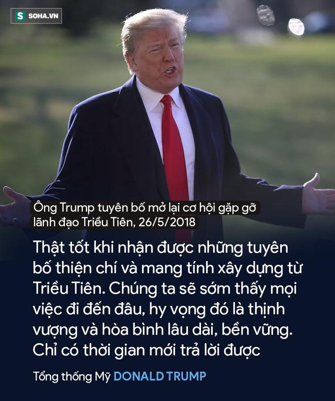 Đường đến Thượng đỉnh của hai nguyên thủ Mỹ - Triều: Sáng gây gổ, tối làm lành 11
