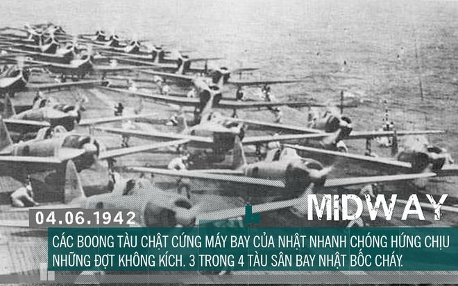 [Photo Story] Định nhử đội tàu sân bay Mỹ vào bẫy tiêu diệt, Hải quân Đế quốc Nhật chuốc thất bại ê chề - Ảnh 8.