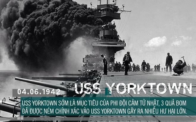 [Photo Story] Định nhử đội tàu sân bay Mỹ vào bẫy tiêu diệt, Hải quân Đế quốc Nhật chuốc thất bại ê chề - Ảnh 10.