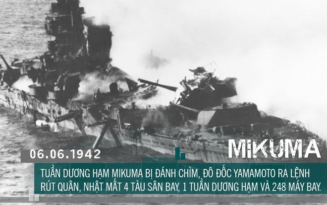 [Photo Story] Định nhử đội tàu sân bay Mỹ vào bẫy tiêu diệt, Hải quân Đế quốc Nhật chuốc thất bại ê chề - Ảnh 13.
