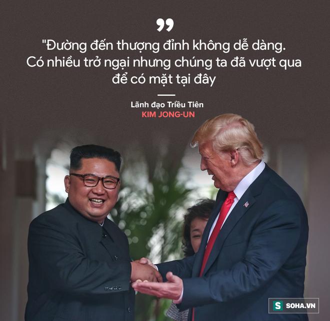 Cơn mưa lời ca ngợi nguyên thủ Mỹ - Triều dành cho nhau - Ảnh 2.