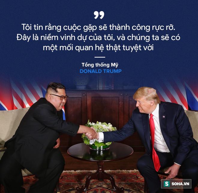 Cơn mưa lời ca ngợi nguyên thủ Mỹ - Triều dành cho nhau - Ảnh 1.