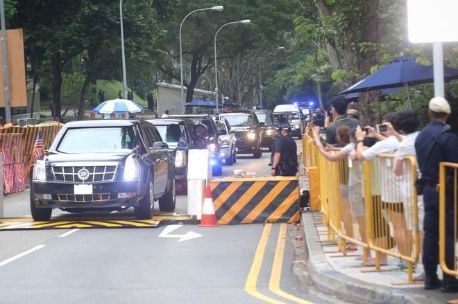 Lãnh đạo Mỹ - Triều rời khách sạn, chuẩn bị họp kín 1-1 - Ảnh 1.