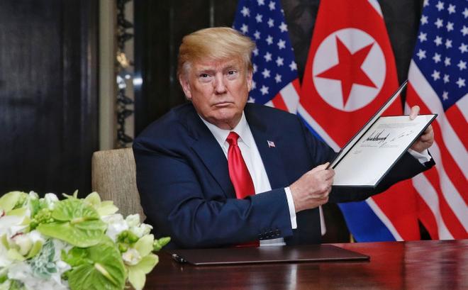 Toàn văn nội dung văn kiện được ký kết giữa Mỹ và Triều Tiên ngày 12/6
