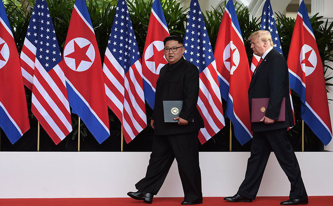 """Guardian: Triều Tiên """"trúng độc đắc"""" khi ông Trump tuyên bố hủy tập trận chung Mỹ-Hàn"""