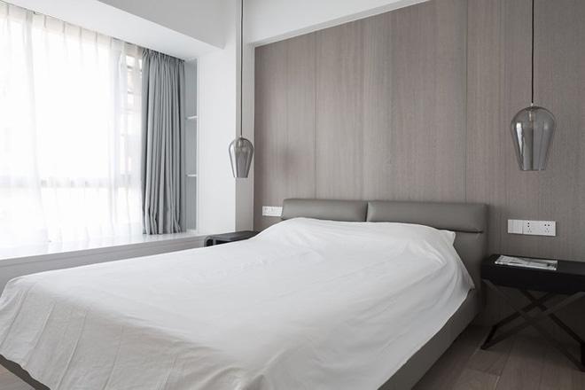 Căn hộ màu trắng thiết kế đơn giản và tinh tế - Ảnh 7.
