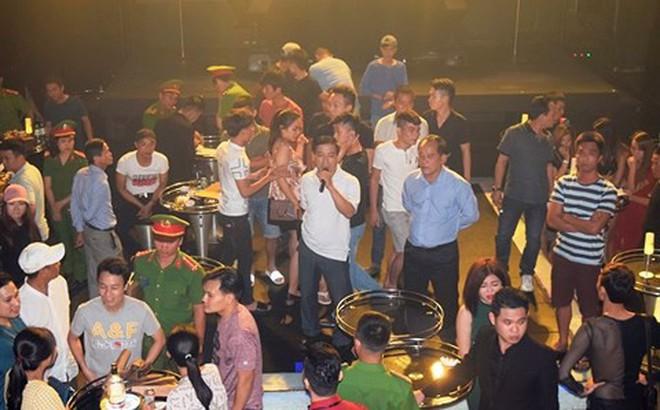 Đột kích động ăn chơi nức tiếng ở Huế: 50 nhân viên và khách hàng dương tính ma tuý