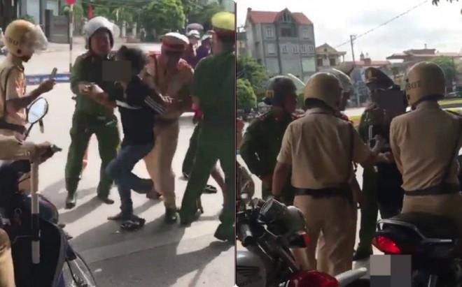 Bị thổi phạt, người đàn ông chống đối rồi chửi CSGT đầy tục tĩu