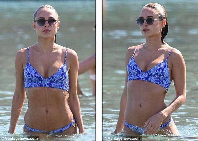 Mỹ nhân bikini Kimberley Garner quyến rũ hút hồn ở Hy Lạp - ảnh 3