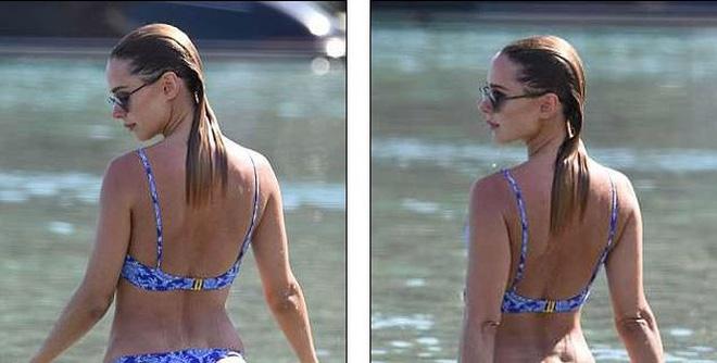 Mỹ nhân bikini Kimberley Garner quyến rũ hút hồn ở Hy Lạp - ảnh 4