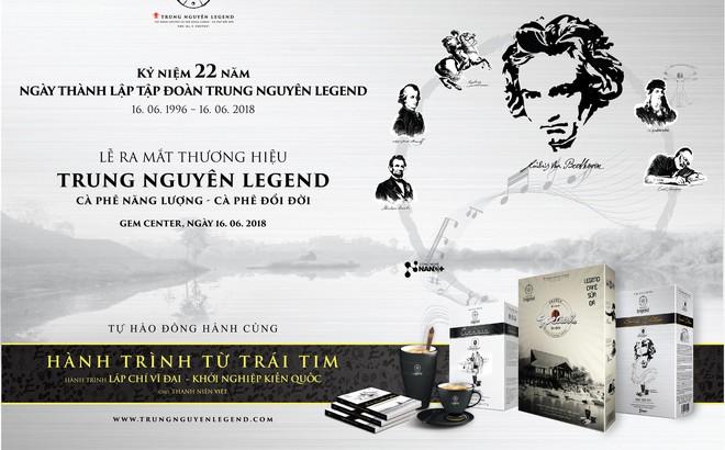 """Trung Nguyên ra mắt thương hiệu mới, được Đặng Lê Nguyên Vũ gọi là """"tuyệt phẩm"""""""