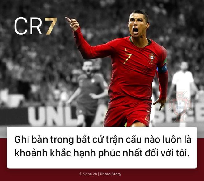 [PHOTO STORY]: Những phát ngôn ngông cuồng và đầy cảm hứng của Cris Ronaldo khiến dân mạng phải chia sẻ 2