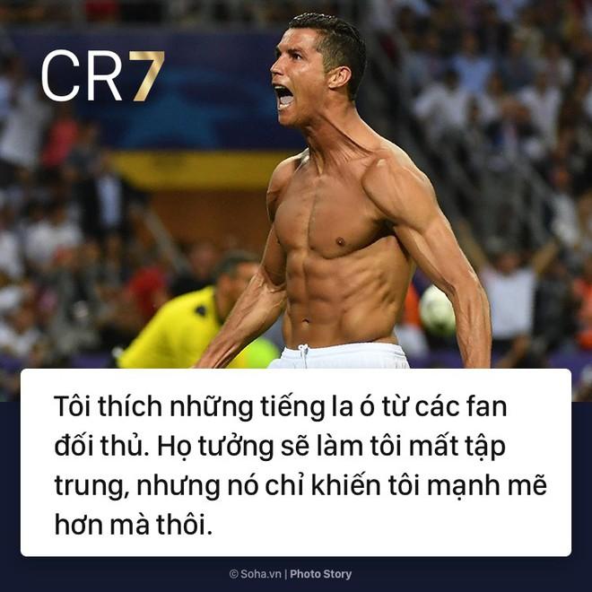 [PHOTO STORY]: Những phát ngôn ngông cuồng và đầy cảm hứng của Cris Ronaldo khiến dân mạng phải chia sẻ 9