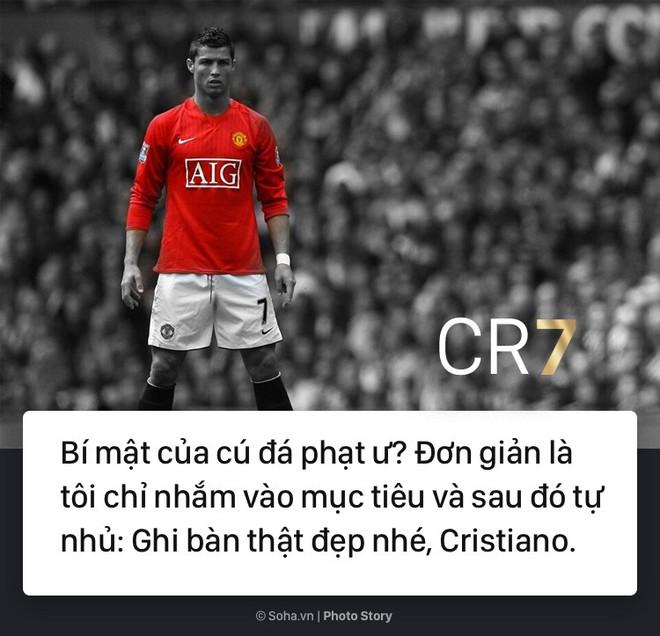 [PHOTO STORY]: Những phát ngôn ngông cuồng và đầy cảm hứng của Cris Ronaldo khiến dân mạng phải chia sẻ 3