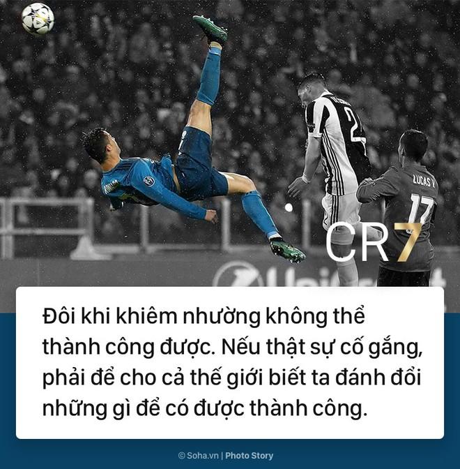 [PHOTO STORY]: Những phát ngôn ngông cuồng và đầy cảm hứng của Cris Ronaldo khiến dân mạng phải chia sẻ 4