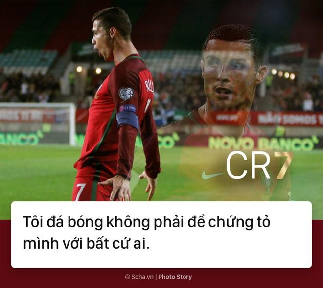 [PHOTO STORY]: Những phát ngôn ngông cuồng và đầy cảm hứng của Cris Ronaldo khiến dân mạng phải chia sẻ 5