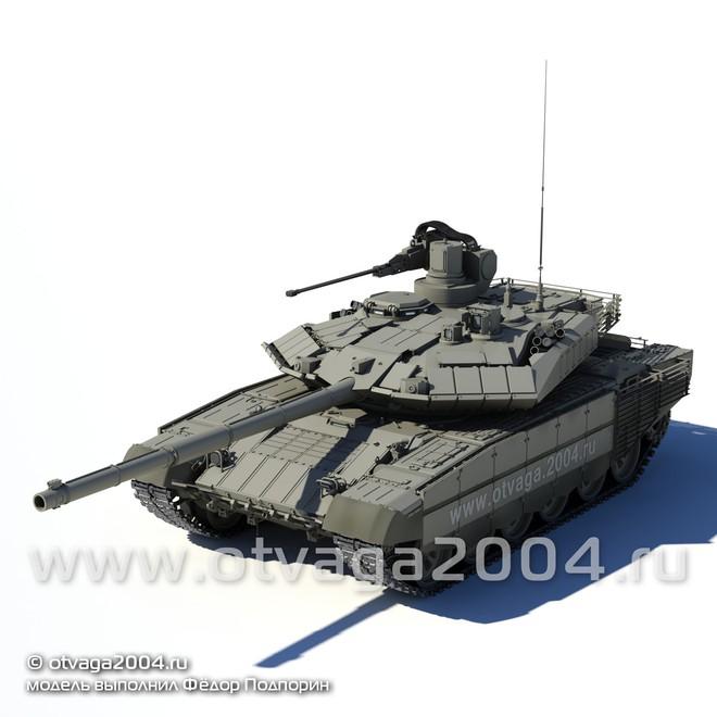 T-90M Proryv-3 đảm nhiệm thêm vai trò BMPT khi được bổ sung vũ khí cực mạnh - Ảnh 2.