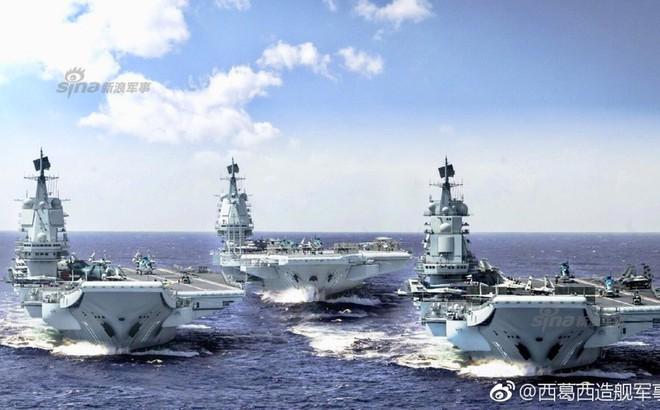Thiết kế siêu hàng không mẫu hạm sử dụng máy phóng của Trung Quốc đã hoàn thiện?
