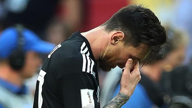 Tiếp tục thế này, chỉ có những giọt nước mắt cho Messi 3