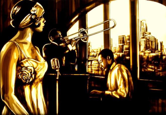 Những tác phẩm của Max Zorn - họa sĩ trẻ chỉ thích vẽ tranh bằng băng dính - Ảnh 7.