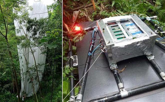 Cơ quan quân sự đã huỷ bỏ vật thể rơi xuống rừng ở Hà Giang