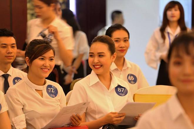 Cận cảnh nhan sắc dàn thí sinh thi tuyển cho hãng hàng không của tỷ phú Trịnh Văn Quyết - Ảnh 9.