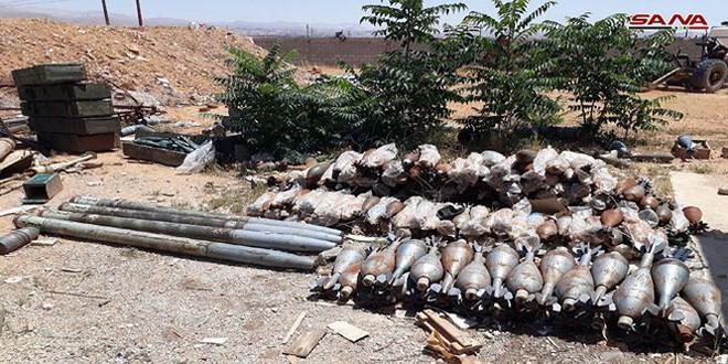 An ninh quân đội Syria thu giữ một số lượng lớn vũ khí trên địa phận tỉnh Idlib
